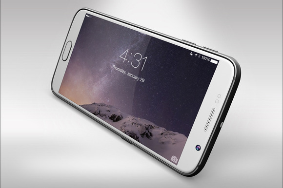 Samsung Galaxy S6 Mock Up