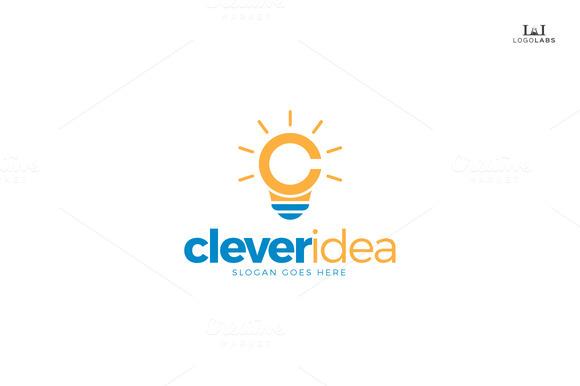 Clever Idea Letter C Logo