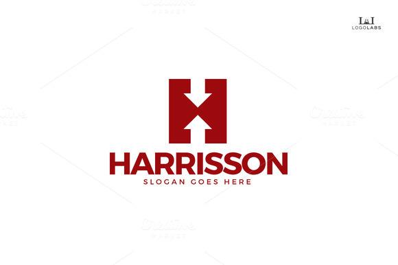 Harrisson Letter H Logo