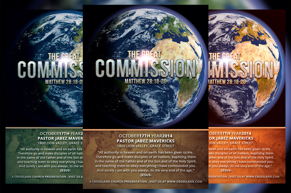 The Great Commission Church Flyer