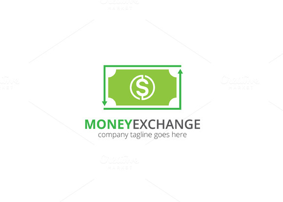 Money Exchange Logo
