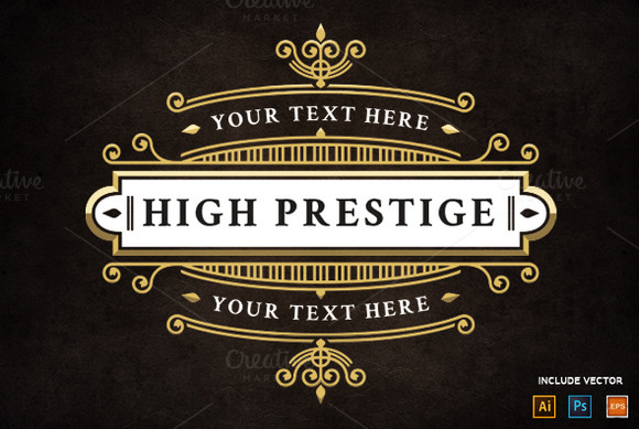 High Prestige Logo Template