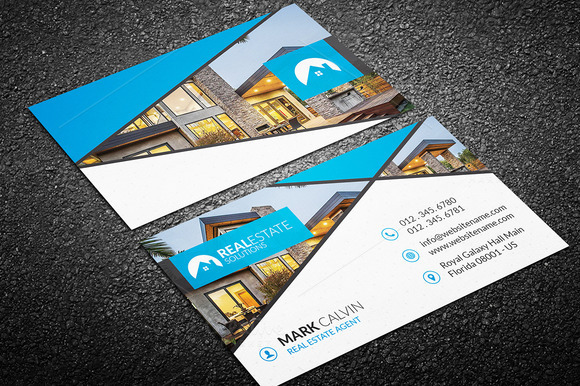 Real Estate Business Card 46