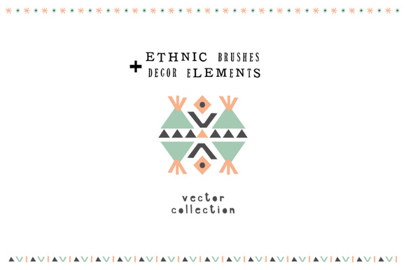 Ethnic Vector Brushes
