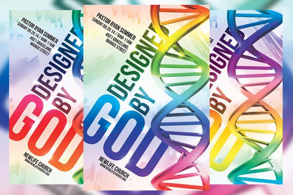 Designed By God Church Flyer