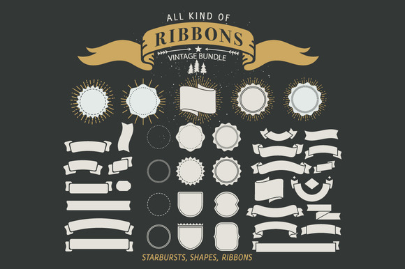 Vintage Ribbon Bundle