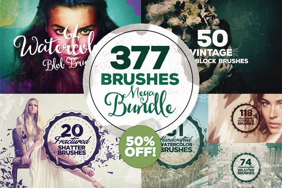 377 Brushes Megabundle