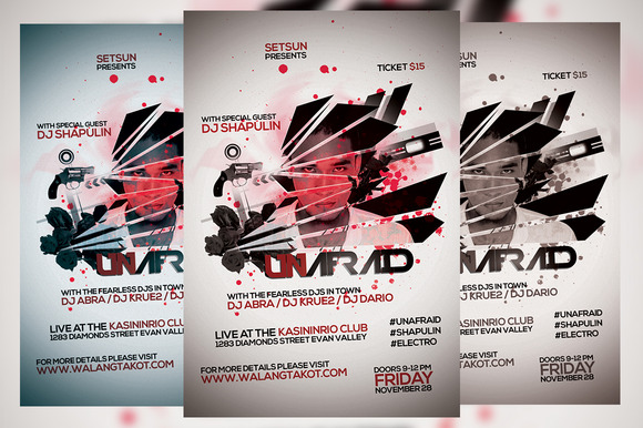 Unafraid Flyer