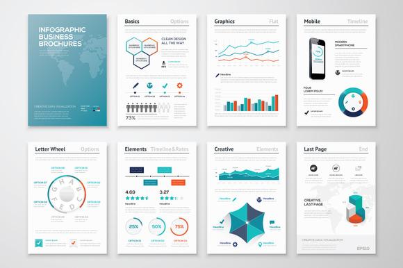 Infographic Brochure Elements 9