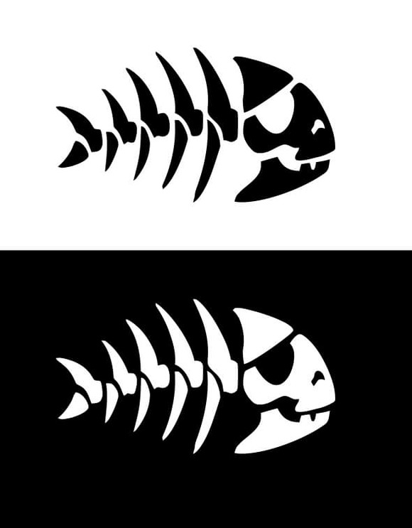 FSM Pirate Fish Skull