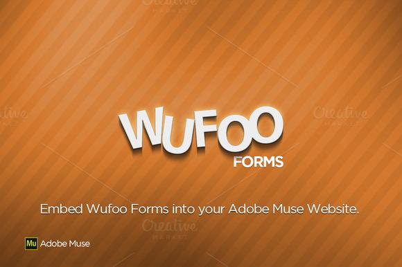 Wufoo Forms Adobe Muse Widget