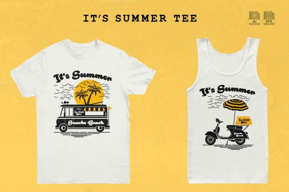It S Summer Tee