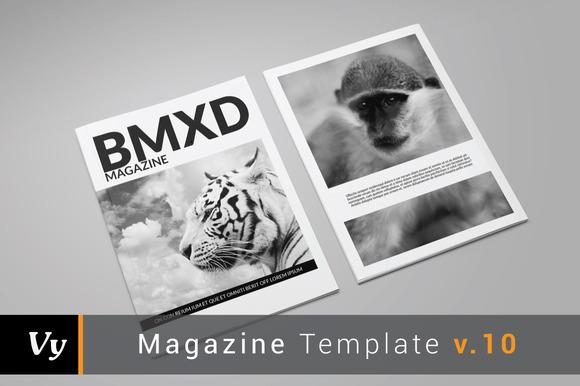 BMXD Magazine Template