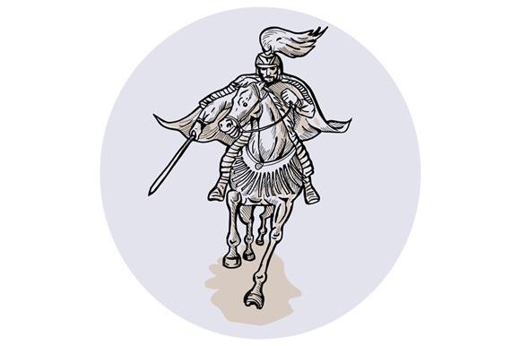 Samurai Warrior With Katana Sword Ho