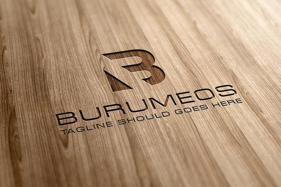 B Letter Logo Template 02