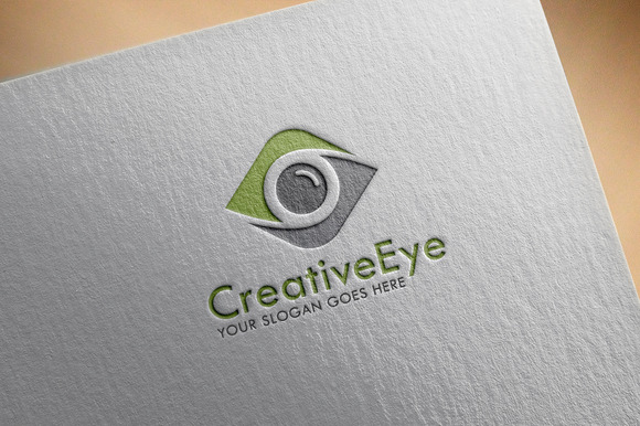 Creative Eye Logo Template