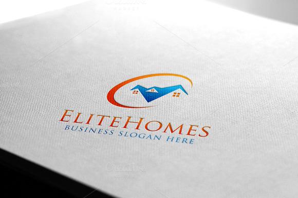 Elite Homes Real Estate Logo