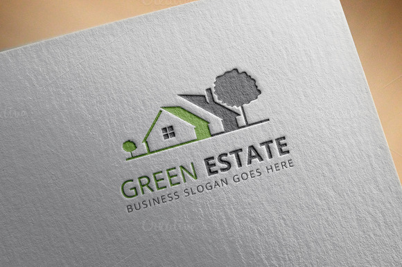 GreenEstate Real Estate Logo