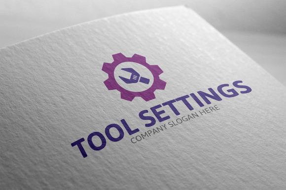 Tool Settings Logo