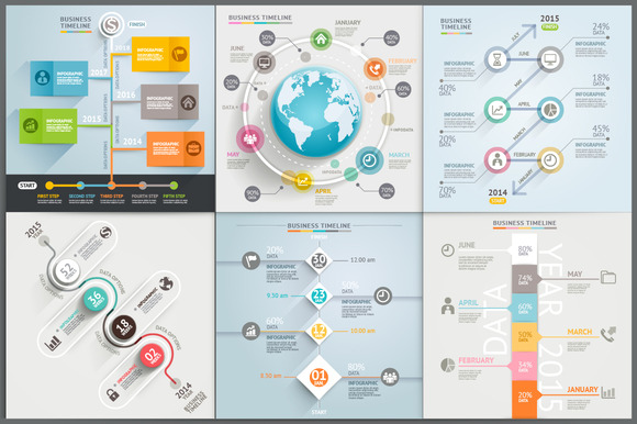 Business Timeline Infographic