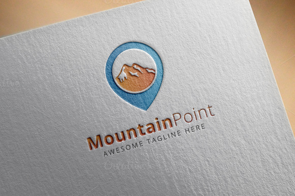 Mountain Point Logo Template