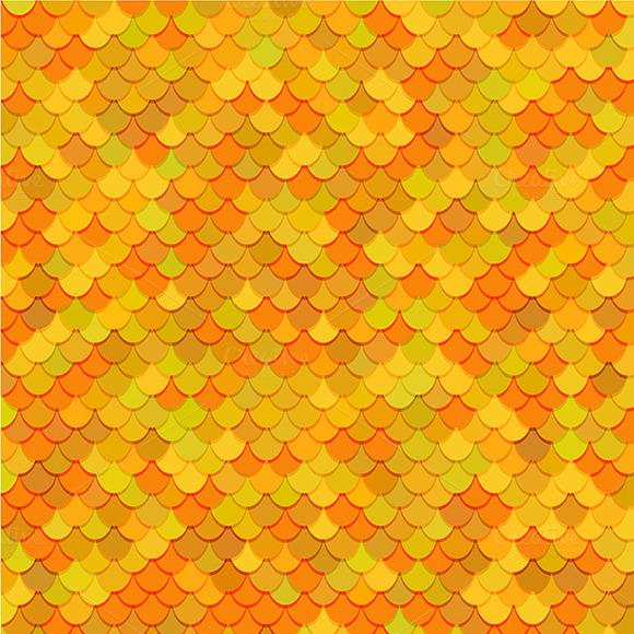 Fish Scales Texture Vector Art