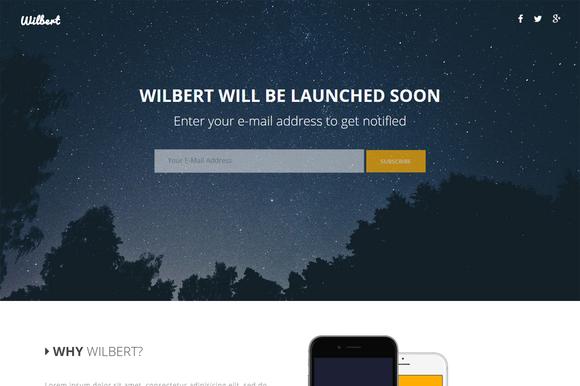 Wilbert App Coming Soon Page