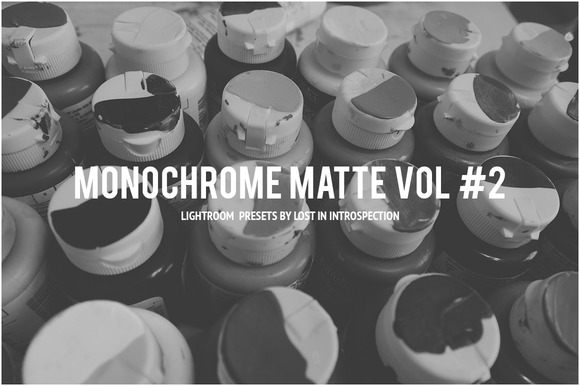 Monochrome Matte Vol #2