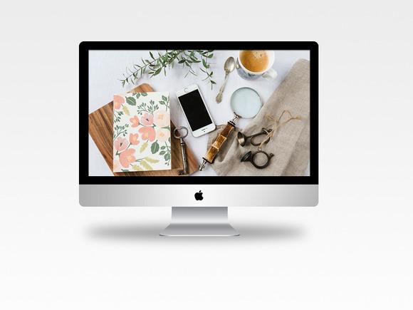 Styled Stock Photo Desktop Full