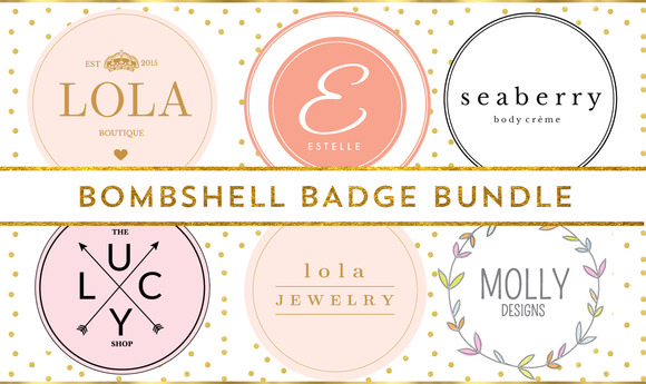 BOMBSHELL BADGES BUNDLE