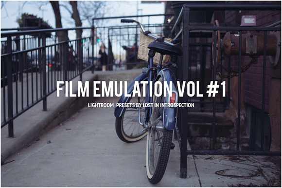 Film Emulation Vol #1 Lightroom