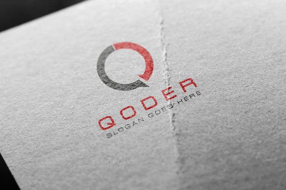 Q Letter Logo Template
