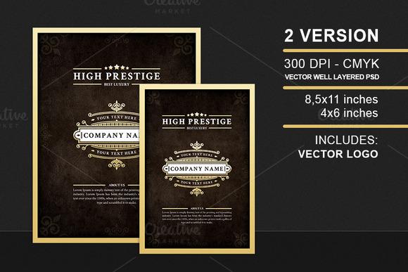High Prestige Luxury Flyer