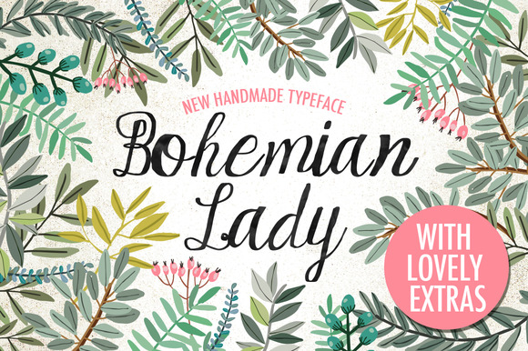 Bohemian Lady Font