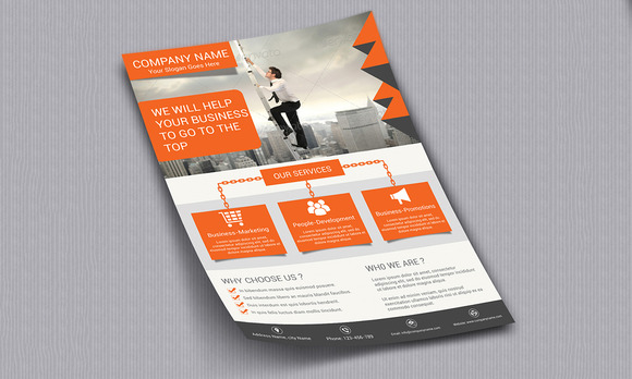 Corporate Flyer Template Vol 10020