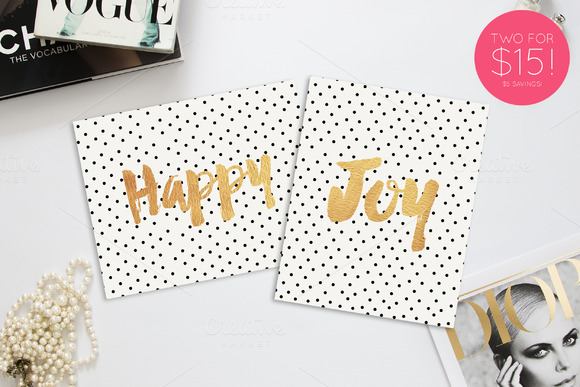 Happy Joy Printable 8x10 Prints