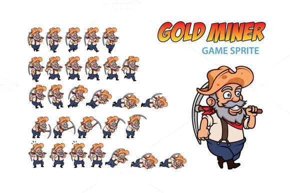Gold Miner Game Sprite