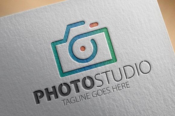 Photo Studio Logo V3
