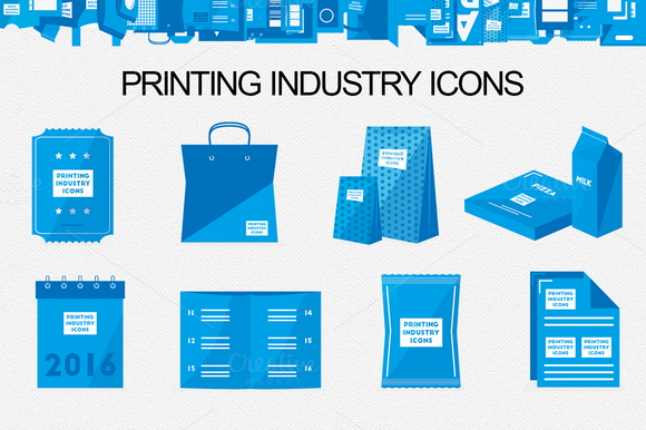 Printing Industry Icons