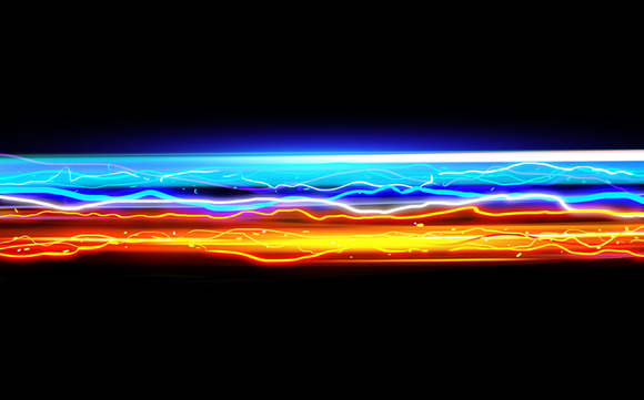 Light Streak Abstract Background