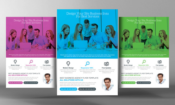 Best Business Agency Flyer Template