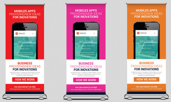 Mobile Apps Rollup Banners