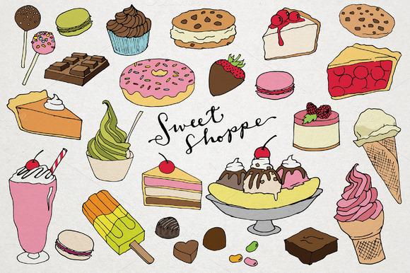 Sweet Shoppe Desserts
