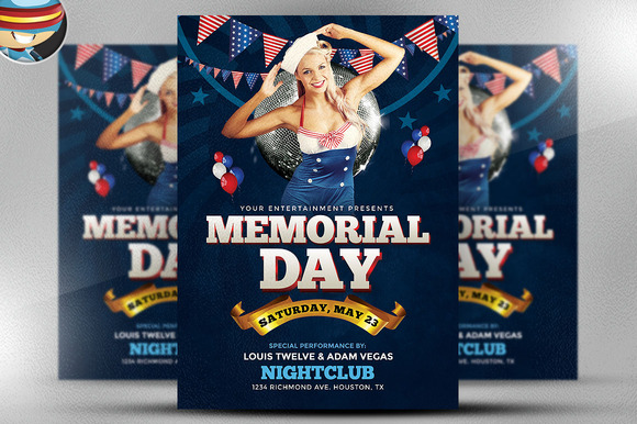 Memorial Day Weekend Flyer 1