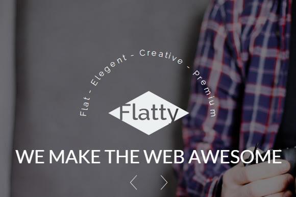 Flatty A UIKit Theme