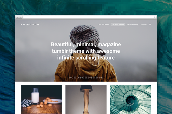 Kaleidoscope Tumblr Theme