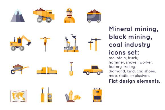 Mineral Mining Black Mining