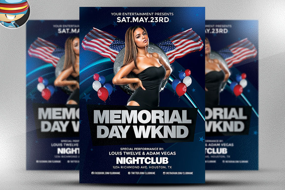Memorial Day Weekend Flyer 2