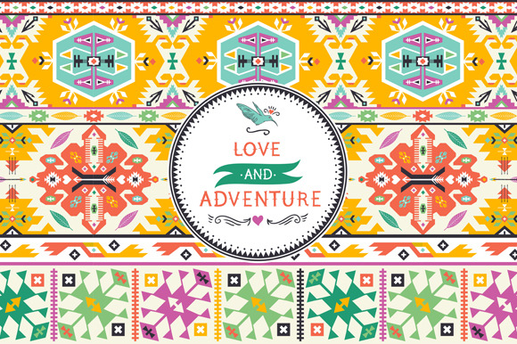 Seamless Pattern In Native Style