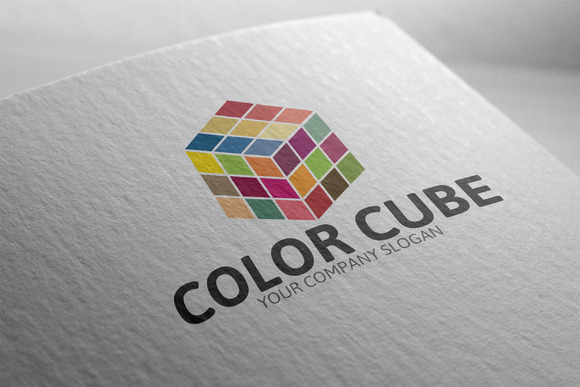 Colored Cube Logo